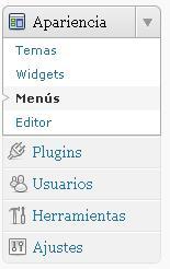 Menús personalizables en WordPress 3.0