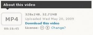 Vimeo y Creative Commons