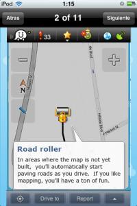 Construyendo calles en Waze
