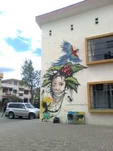 En la Universidad de Cuenca, Ecuador