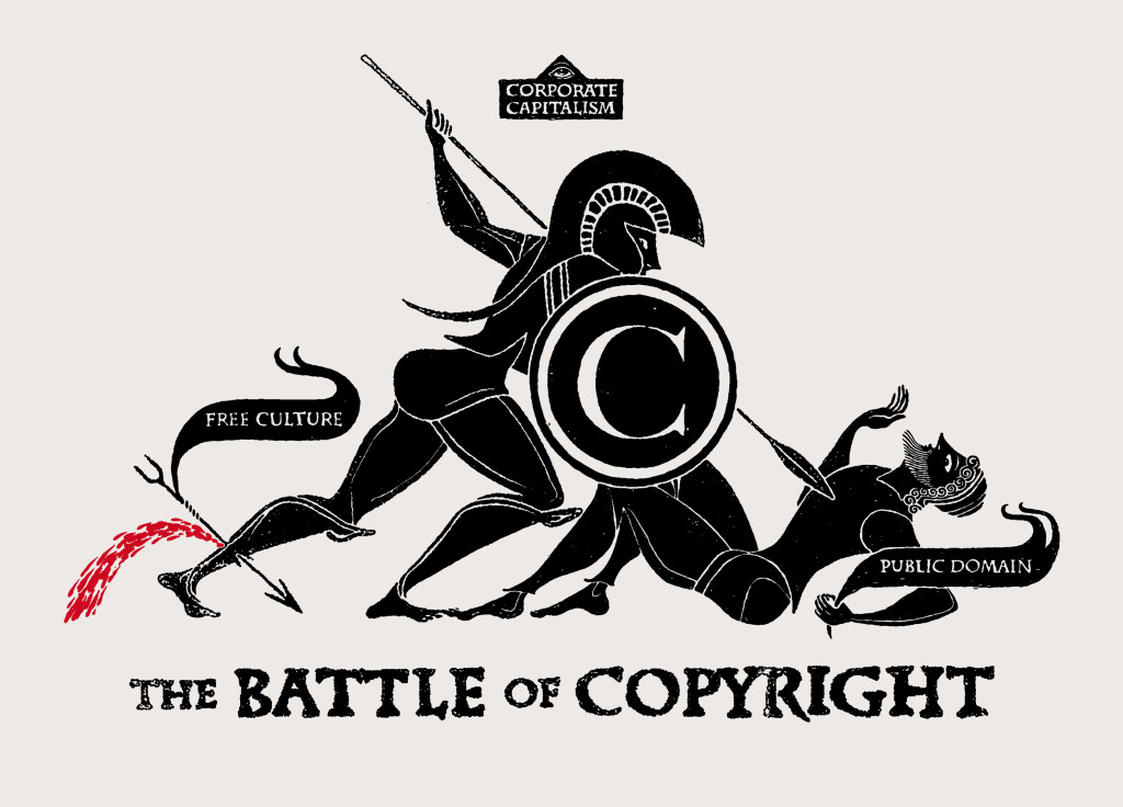 The battle of Copyright, vía flickr por CHRISTOPHER DOMBRES