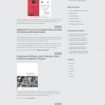 Sitio web de la Editorial Javeriana después de su adecuación