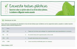 Encuesta sobre Bolsas - Secretaria Distrital de Ambiente