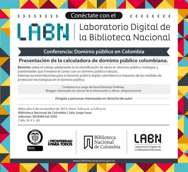 Invitación LaBN Dominio público