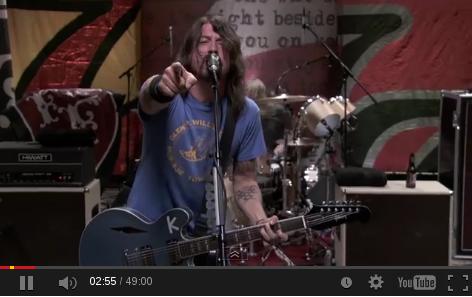Dave Grohl en vivo 2011