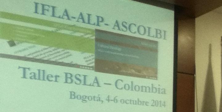 Taller BSLA Colombia, IFLA-ASCOLBI