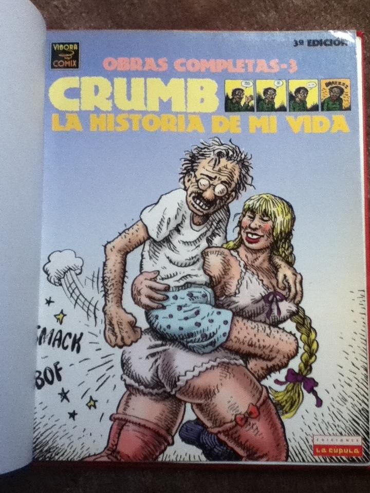 La historia de mi vida, de Robert Crumb