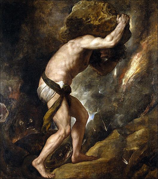 Sísifo, de Tiziano