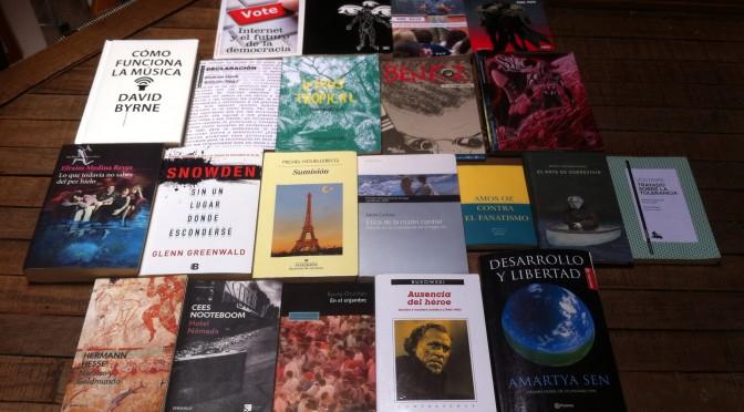 Los libros que me leí en el 2015