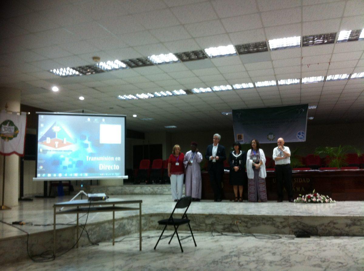 IFLA LAC Panamá Semana especial de trabajo, día 1