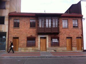 Casa donde se encuentra la biblioteca del Instituto Humboldt