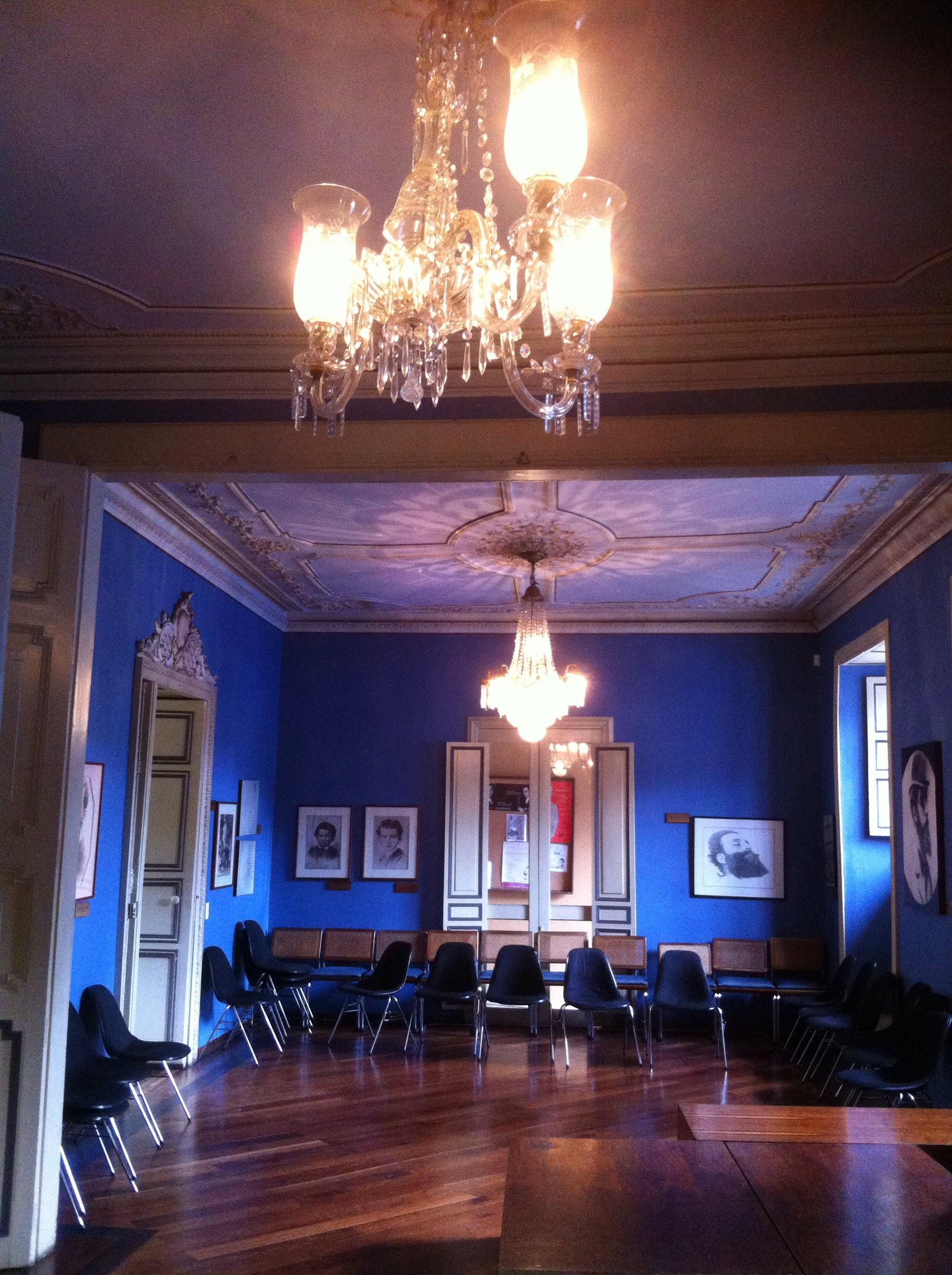 Auditorio de la Casa de Poesía Silva