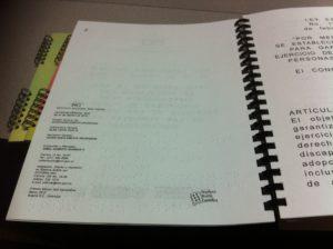 Documentos en braille