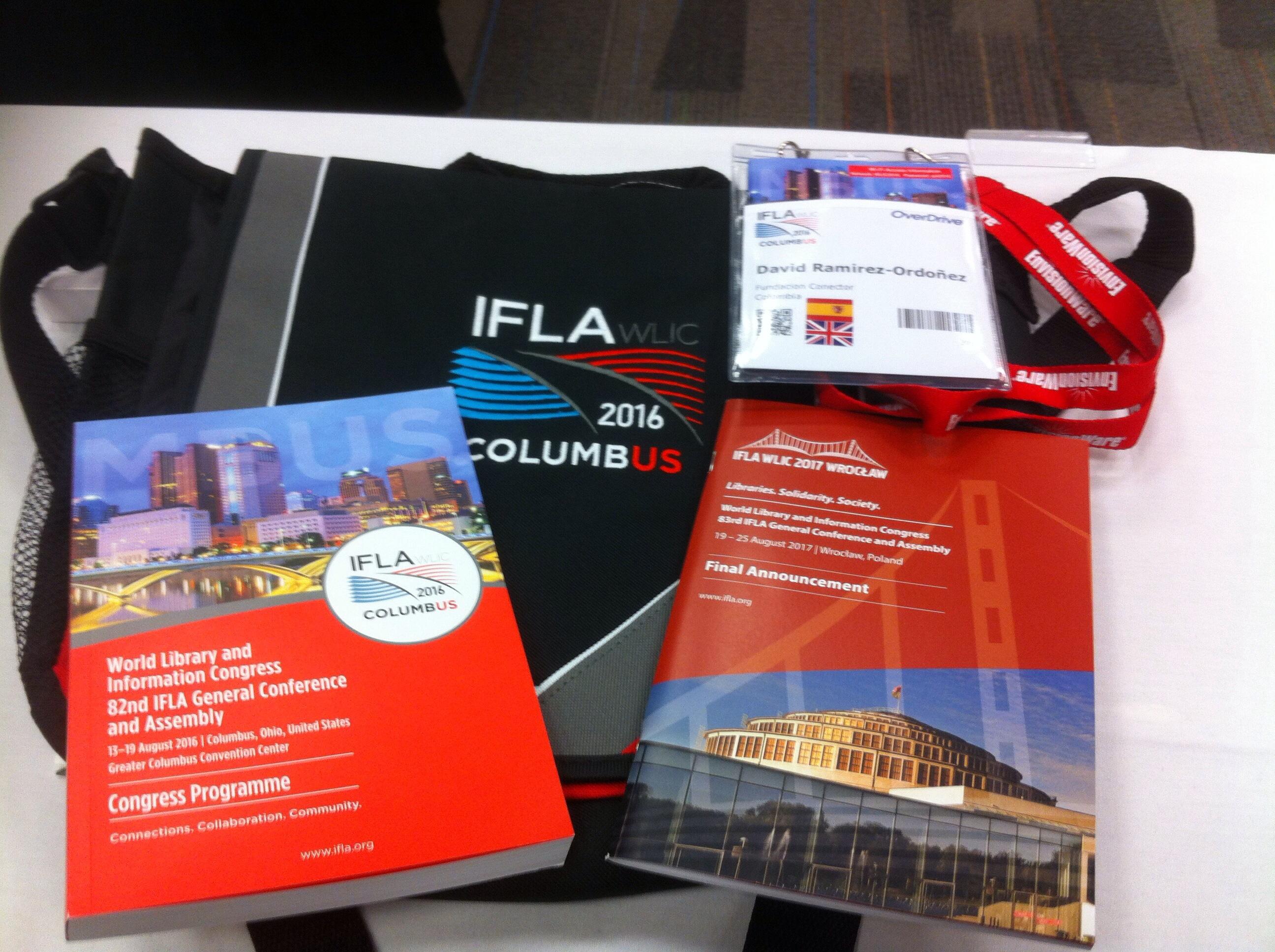 Materiales del Congreso de IFLA