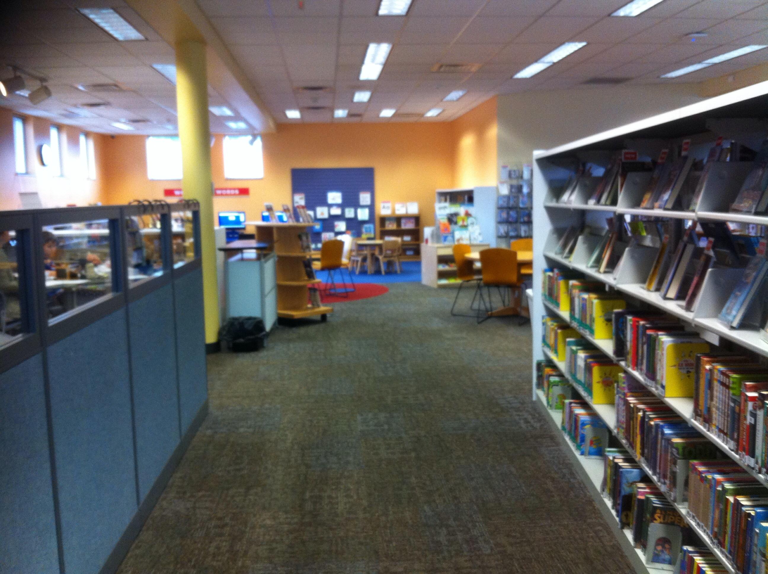 Franklinton library en Columbus, Ohio