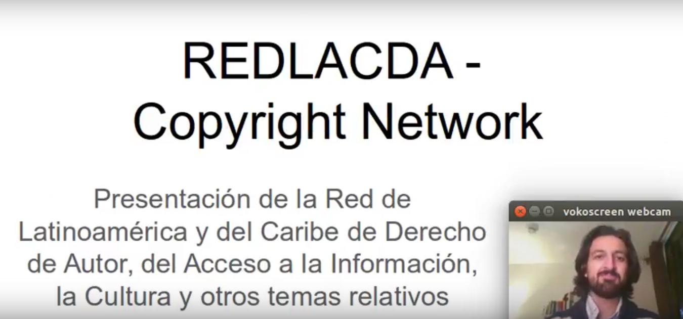 Presentación de la Red de Derecho de Autor en IFLA LAC 2017