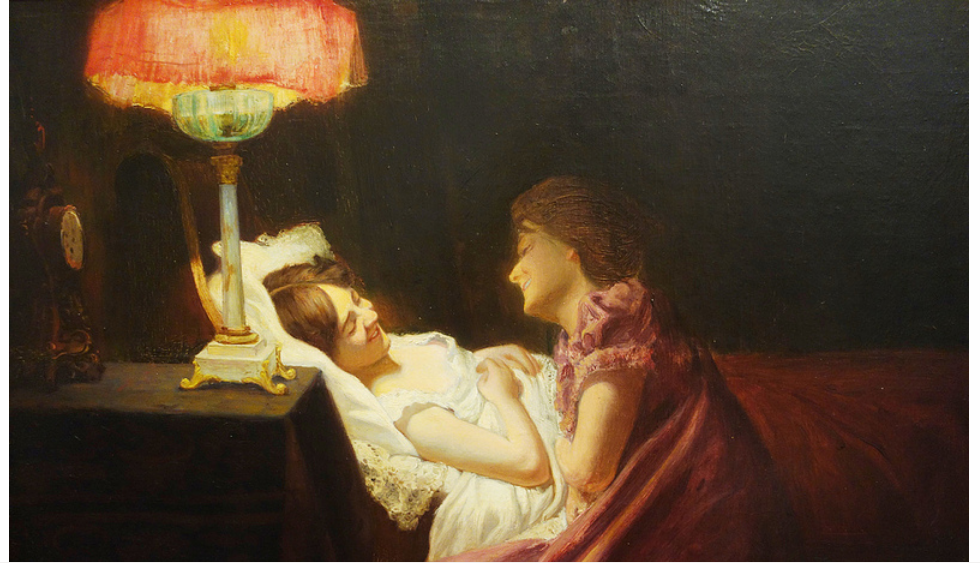 Confidencias (1901) - Francisco Antonio Cano