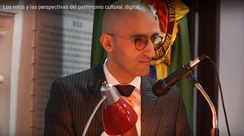 Jhonny Pabón Cadavid en la Academia Colombiana de Historia