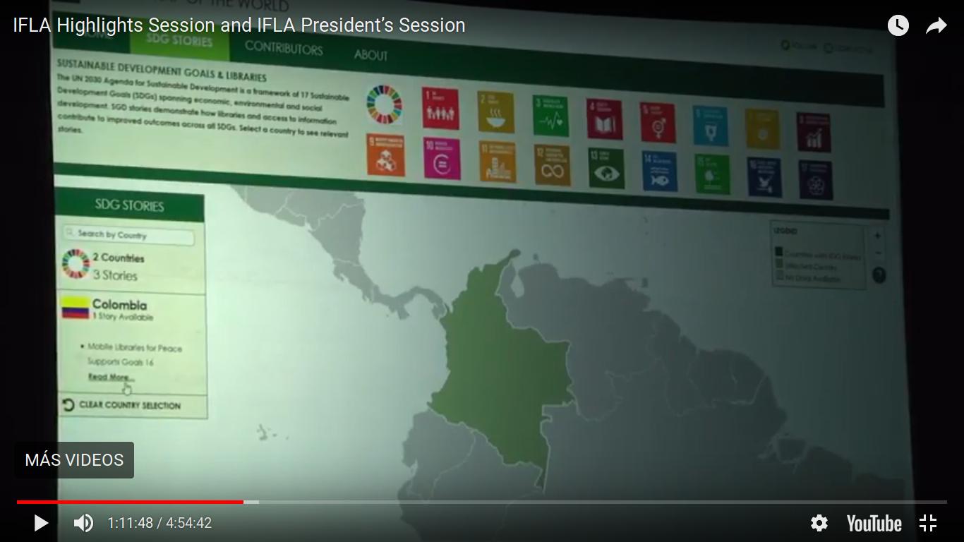 Videos del Congreso Mundial de IFLA en Polonia, 2017