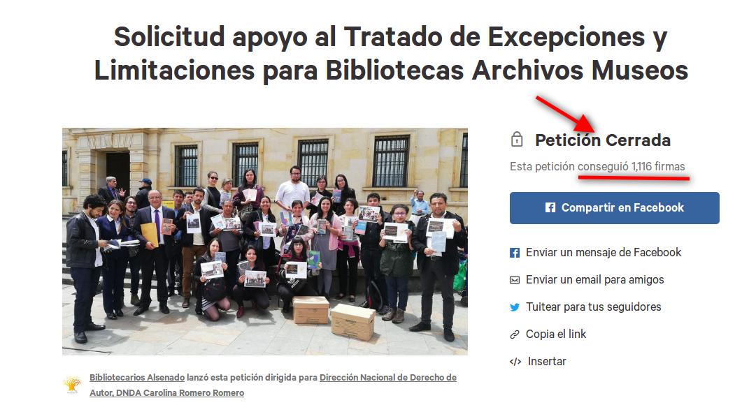 Somos más de 1.100 #BibliotecariosAlSenado