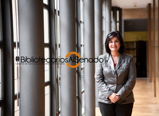 Glòria Pérez-Salmerón, presidenta de la Federación Internacional de Asociaciones Bibliotecarias e Instituciones - IFLA