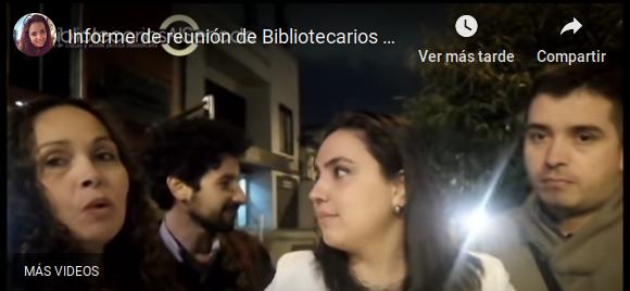 Informe de #BibliotecariosAlSenado de la reunión con el Ministerio de Educación Nacional