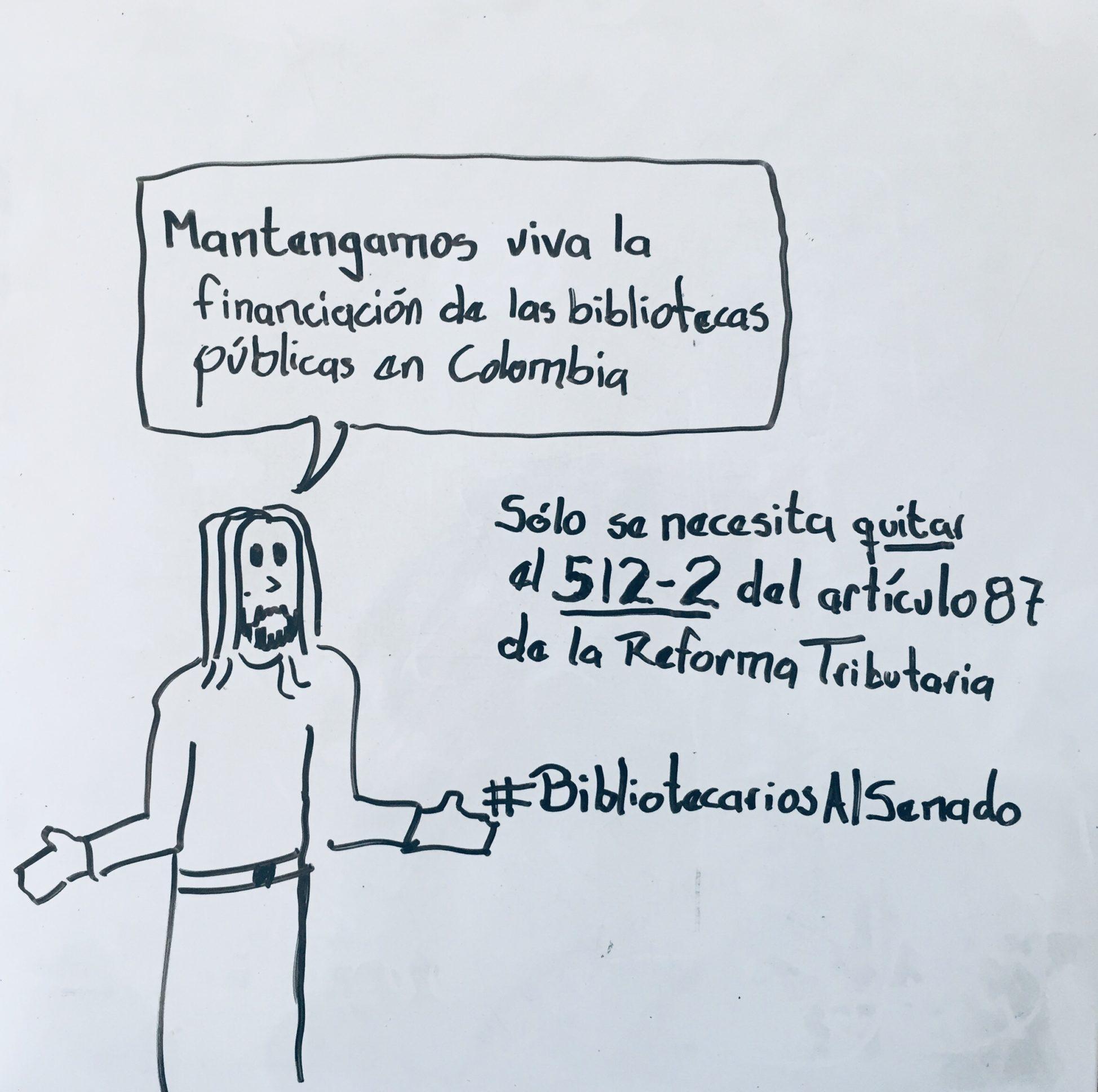 Mantengamos viva la financiación de las Bibliotecas Públicas en Colombia