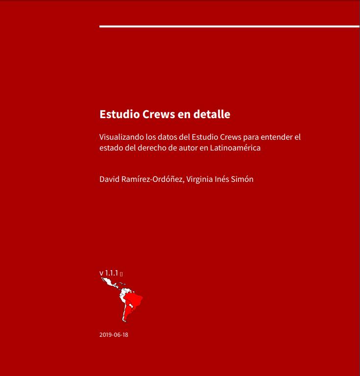 Portada del libro con mapa de América Latina coloreando en rojo países que no cuentan con ninguna excepción
