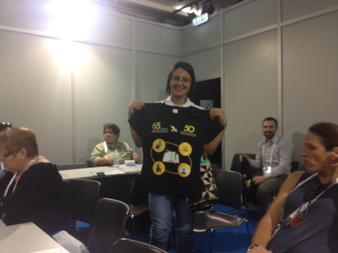 La camiseta que rifaron se irá para Cali, Colombia :D