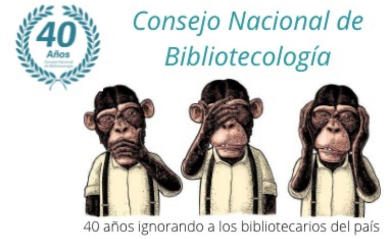 Un meme creado luego del Café de la Escuela Interamericana de Bibliotecología que empezó a circular en redes sociales.