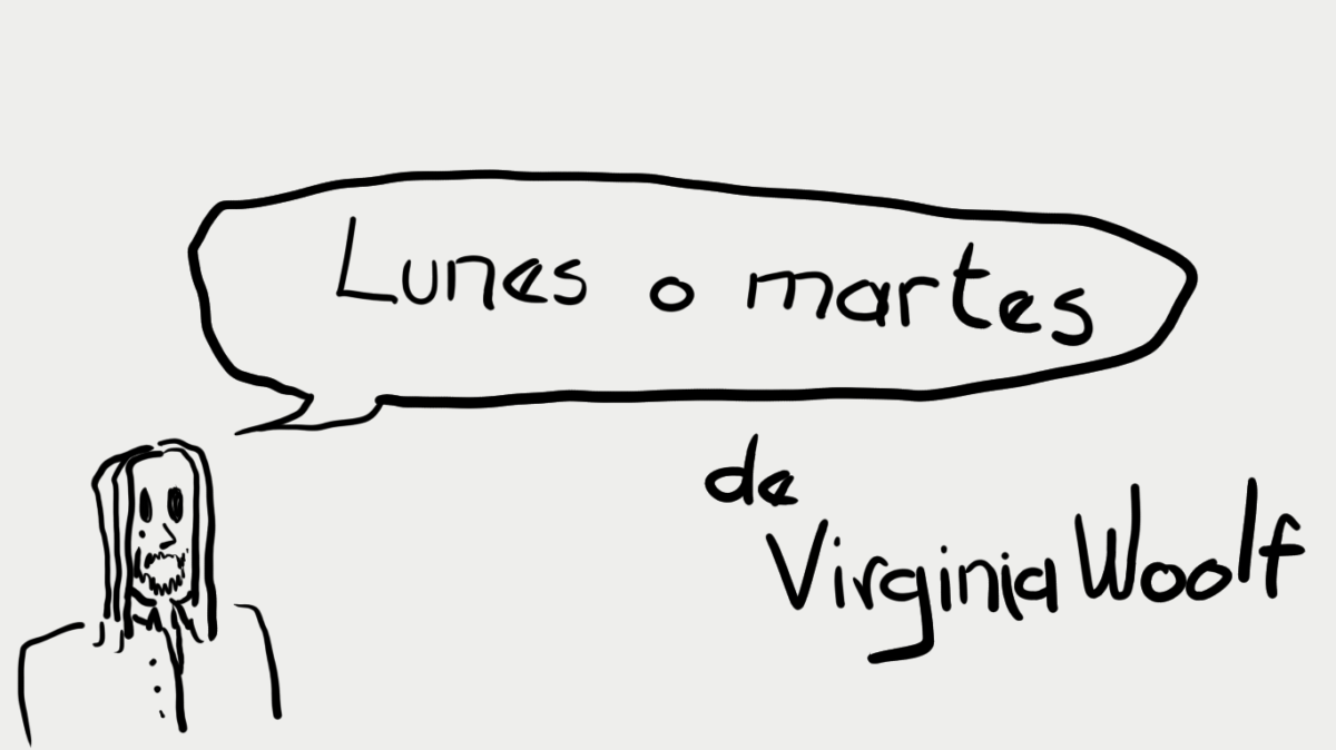 Lunes o martes, de Virginia Woolf